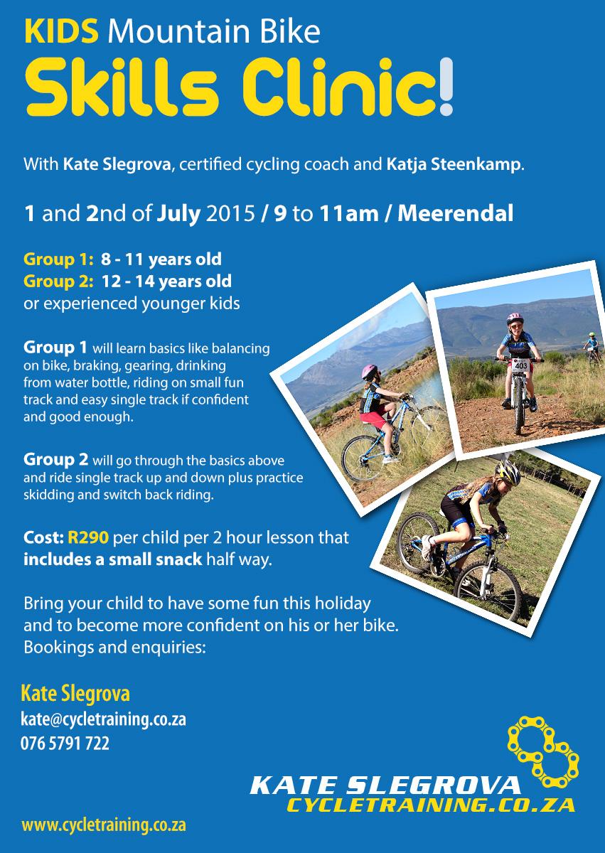 Kids MTB skills clinic